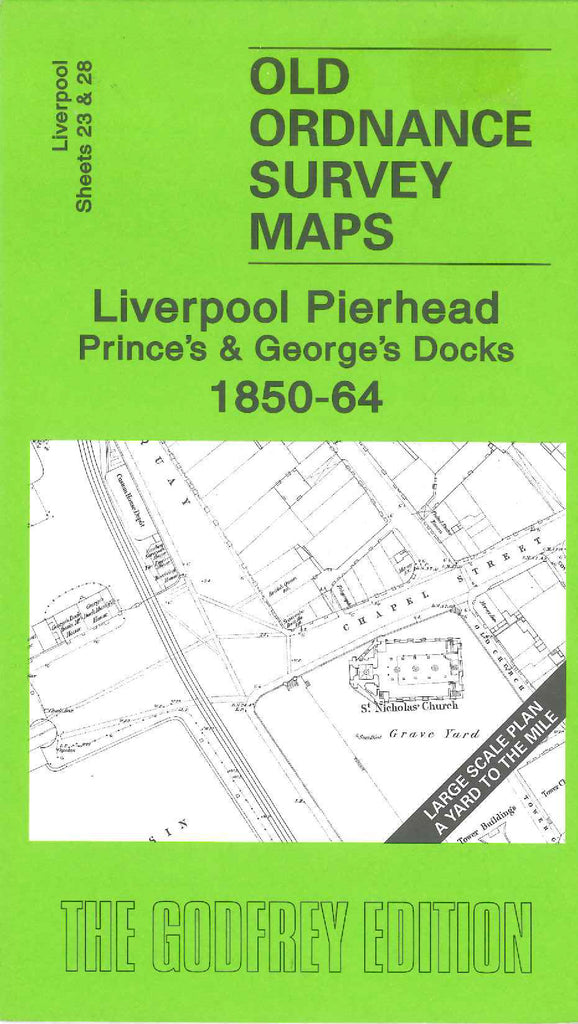 Liverpool Pierhead Prince's & George's Docks 1850-64