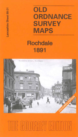 Rochdale 1891 (Coloured edition)
