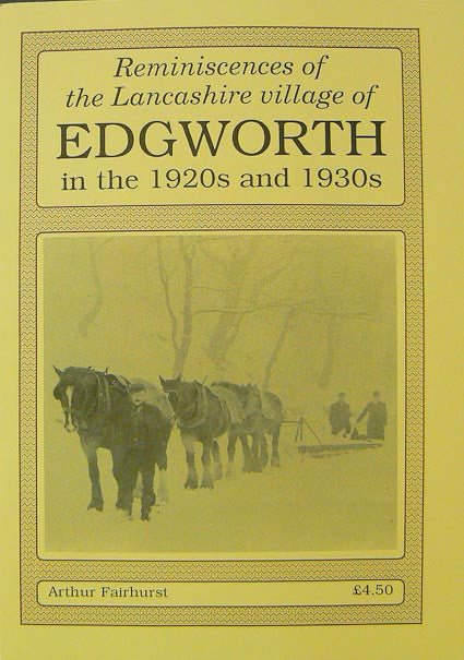 Reminiscences of Edgworth 1920-30