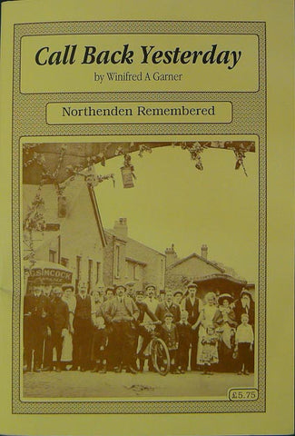 Call Back Yesterday: Northenden Remembered