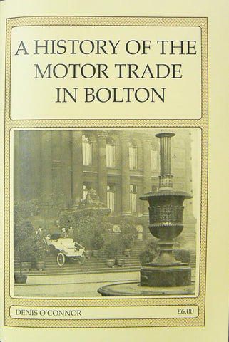 A History of the Motor Trade in Bolton