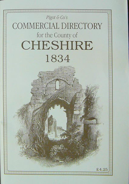 Pigot and Co's Commercial Directory of Cheshire for 1834