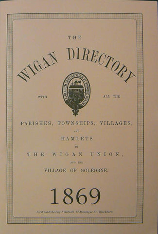 The Wigan Directory 1869