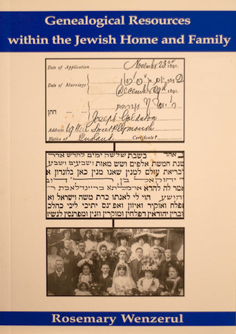 Genealogical Resources within the Jewish Home and Family