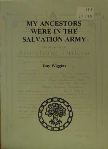 My Ancestors were in the Salvation Army