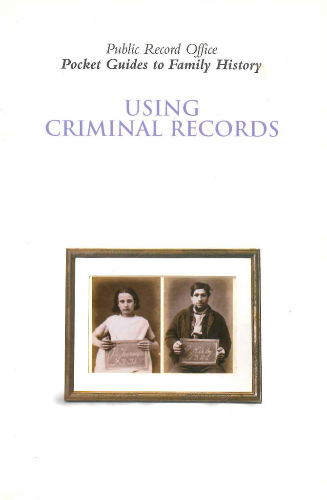 Using Criminal Records