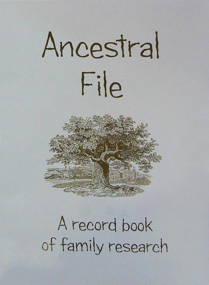 Ancestral File: A Record Book of Family Research