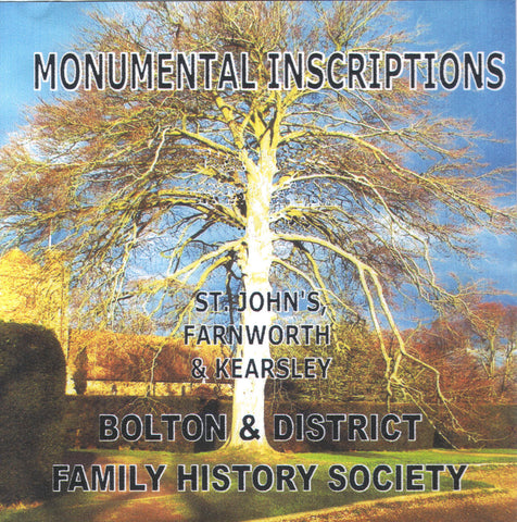 Farnworth & Kearsley, St. John, Monumental Inscriptions (Download)