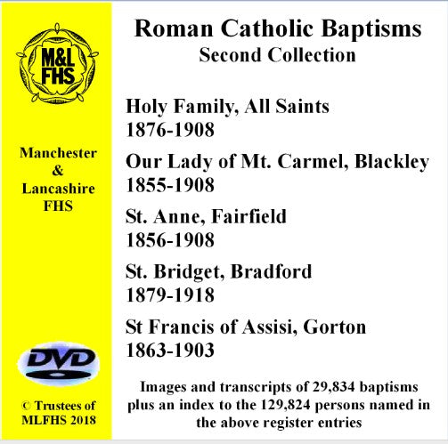 Five Catholic Church Baptisms DVD 2