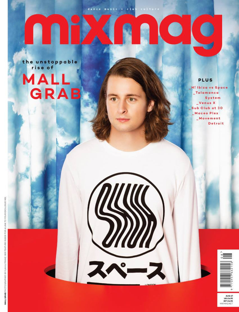 OKUH STUDIOS ON MIXMAG COVER FEATURING MALL GRAB