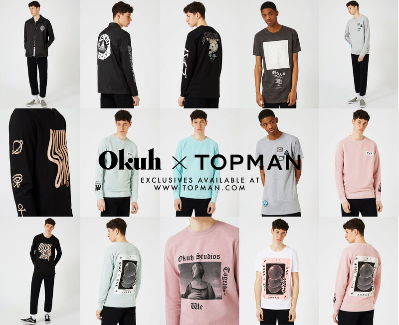 OKUH X TOPMAN - EXCLUSIVES AT TOPMAN.COM