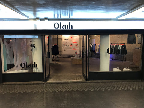 Underground Guerrilla Pop Up Store Old Street Tube Station Okuh Studios Streetwear fashion brand