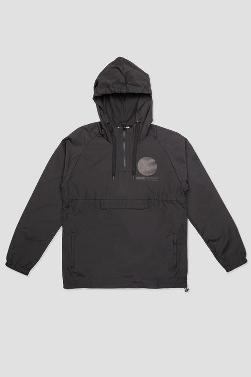 Black Okuh Over Head Jacket - okuhstudios