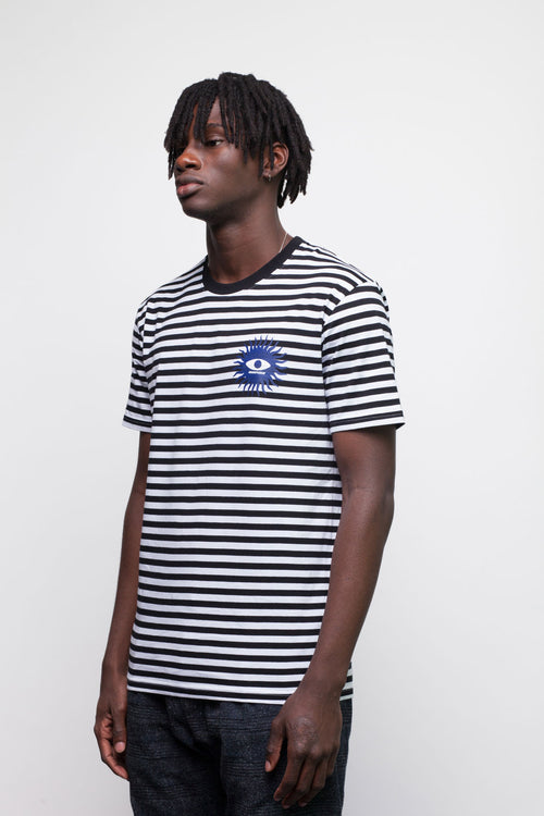 Stripy Eye T-Shirt - okuhstudios