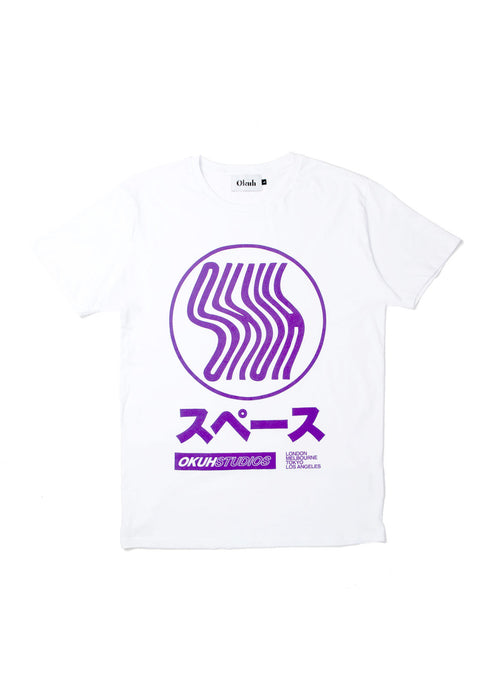 Colour Changing T-Shirt by Okuh Studios, mens streetwear fashion brand, Front