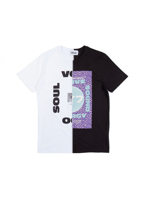 Native Cut & Sew T-Shirt by Okuh Studios, mens streetwear fashion brand, Front