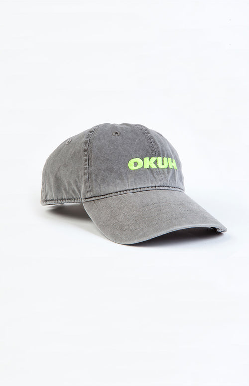 6 PANEL CAP EMBROIDED OKUH LOGO - okuhstudios