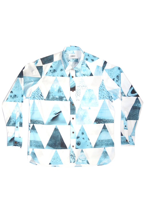 Long Sleeve Psy Triangle Shirt - okuhstudios
