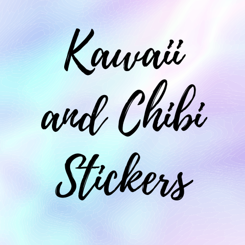 Kawaii and Chibi Stickers
