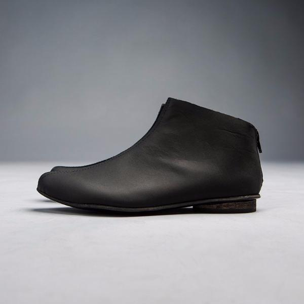 c60d0e715f1 Black leather ankle boots. 4600 | walkbyanatdahari