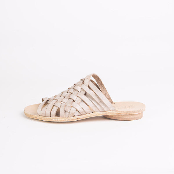 Criss cross slides in cream