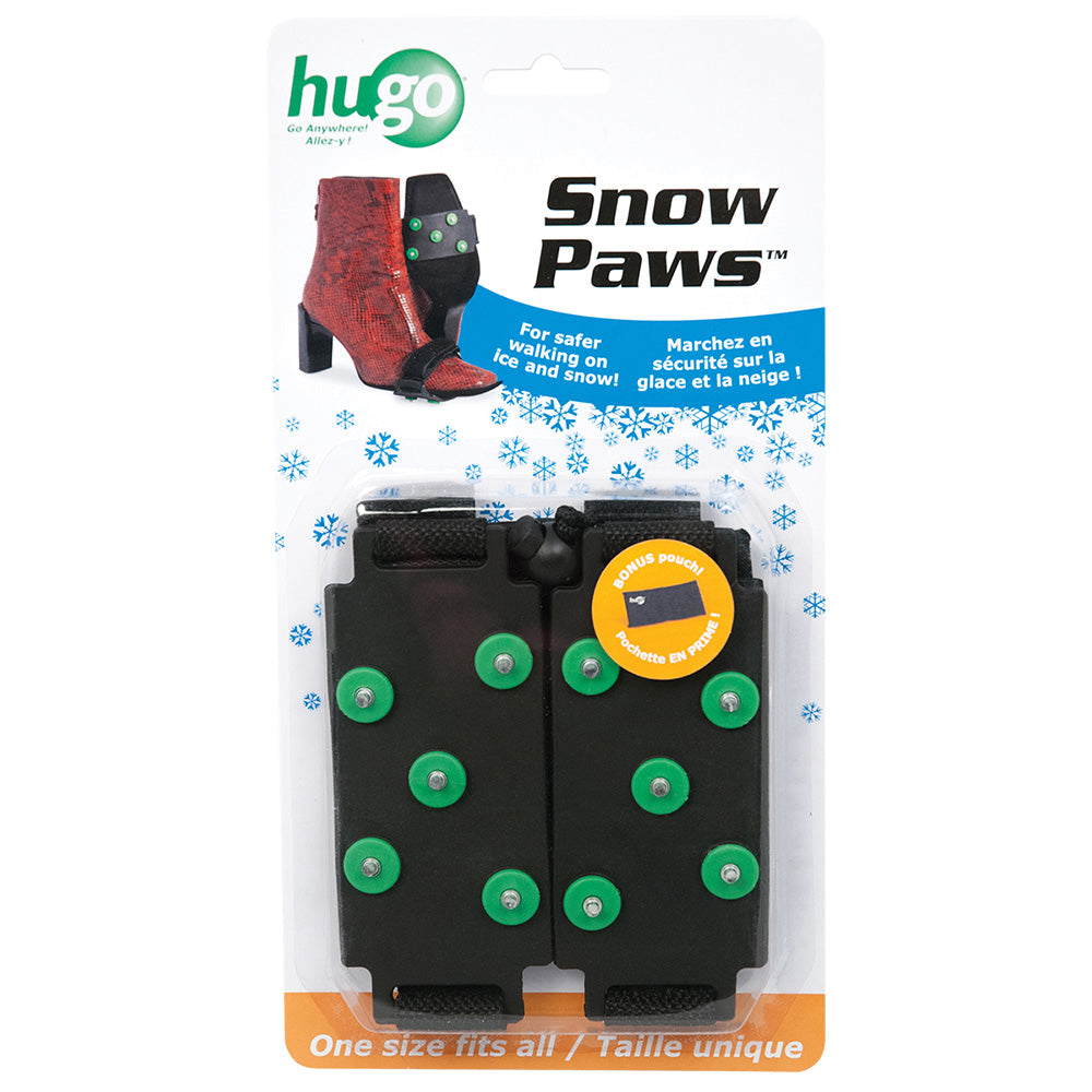 Snow Paws Snow and Ice Grippers for Shoes, One Size