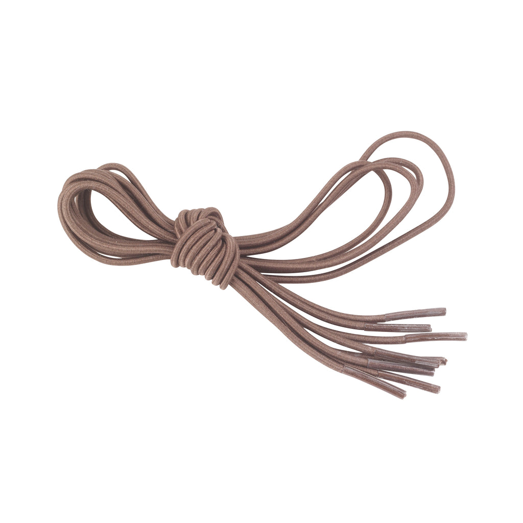Elastic Shoe and Sneaker Laces, Brown, 2 Pairs