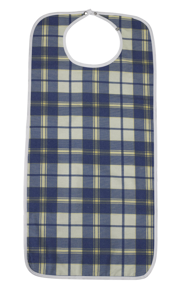 Lifestyle Flannel Bib, Large