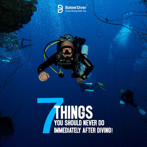 7 Things You Should Never Do After Diving