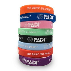 Accessories  - Wristband - Be Best. Be PADI. Pack