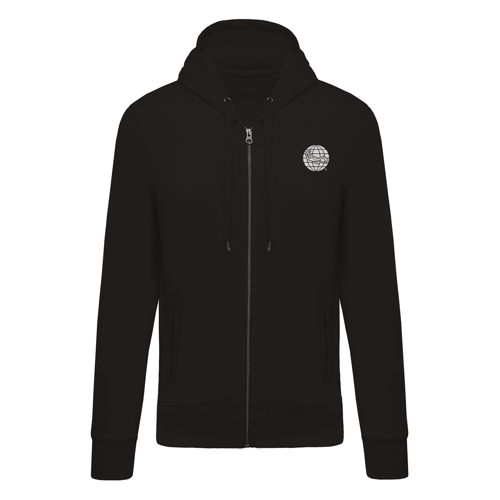 PADI GEAR - Diving Full Zip Hoodie - Black