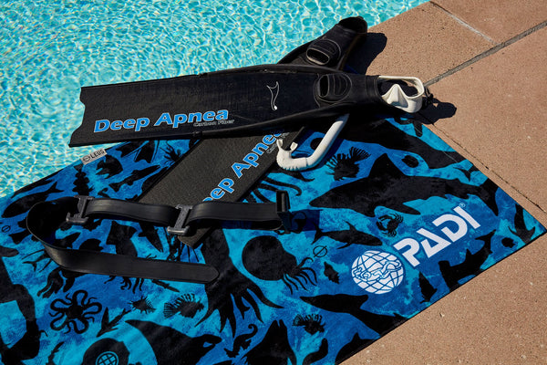 PADI GEAR - PADI X Leus Sea Life Dive Towel