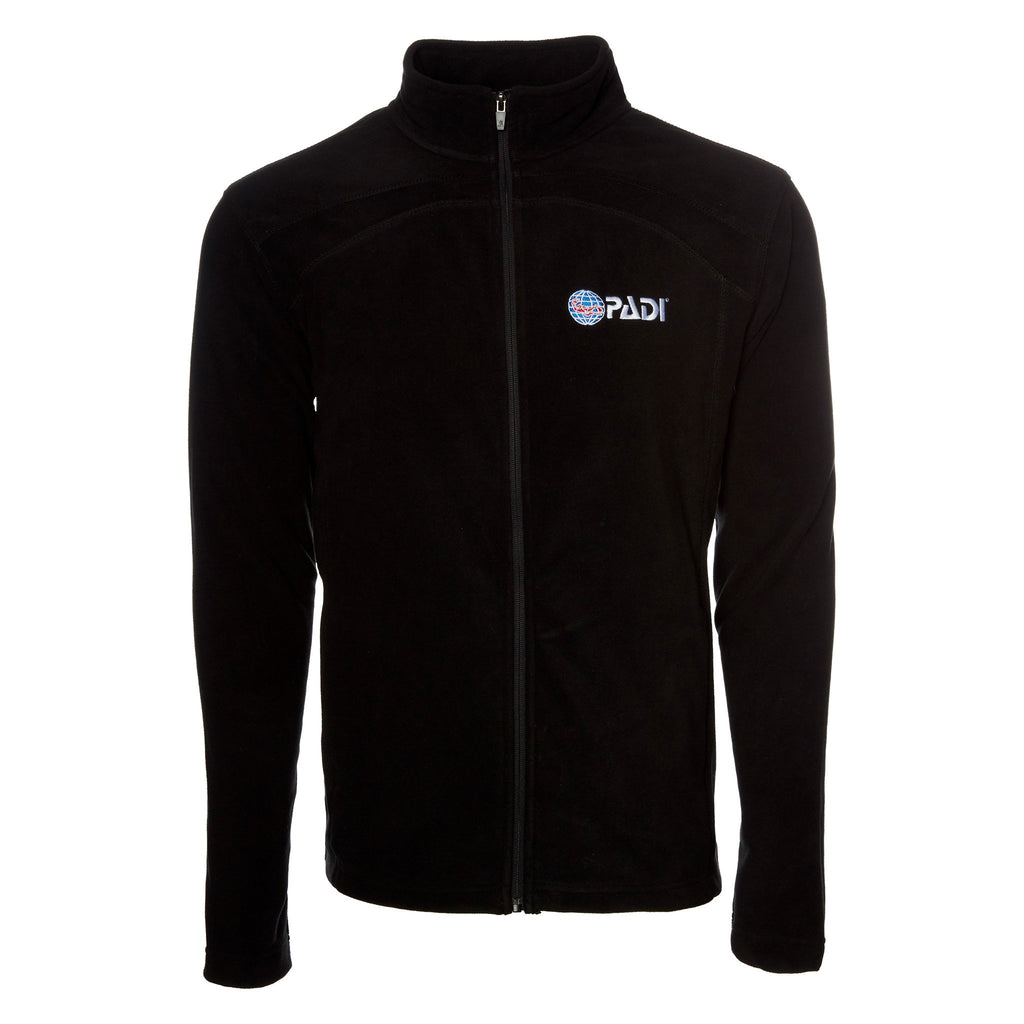 Men's Full-Zip Jacket - Black