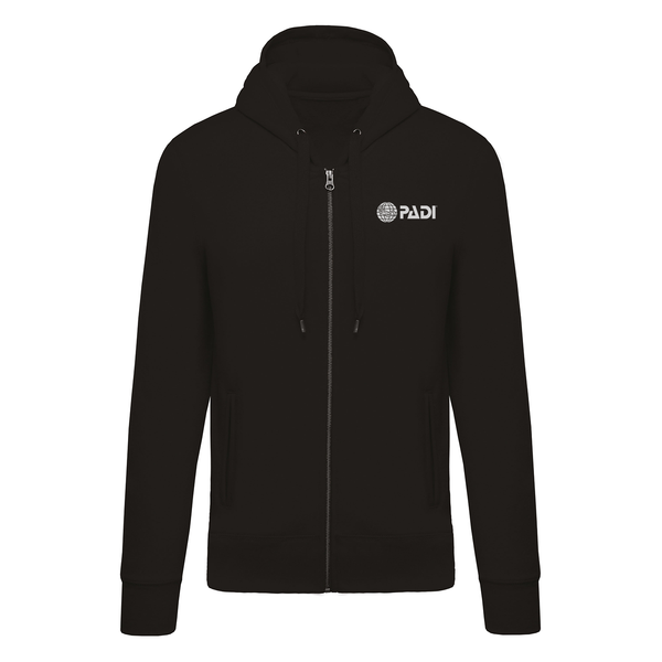 PADI GEAR - Globe Full Zip Hoodie - Black
