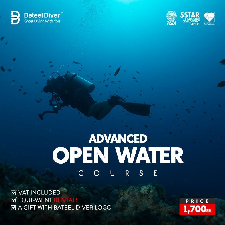 "Bateel Diver Offers ""PADI Advanced Open Water Course"""