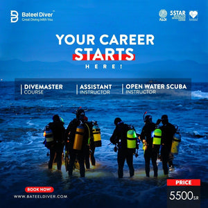 "Bateel Diver Offers ""Courses package"""