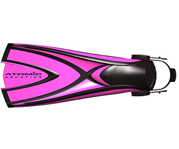 Atomic Aquatics X1 Fin, Medium, Pink