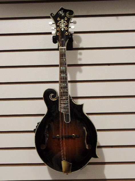 Michael Kelly Legacy Flame Electric Mandolin Tobacco Sunburst Blemish #0187