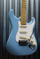 G&L Guitars USA Legacy Himalayan Blue Electric Guitar & Hardshell Case #8337