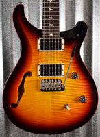 PRS Paul Reed Smith USA CE 24 Semi Hollow Tri Color Burst Binding Guitar & Bag CE24 #0575