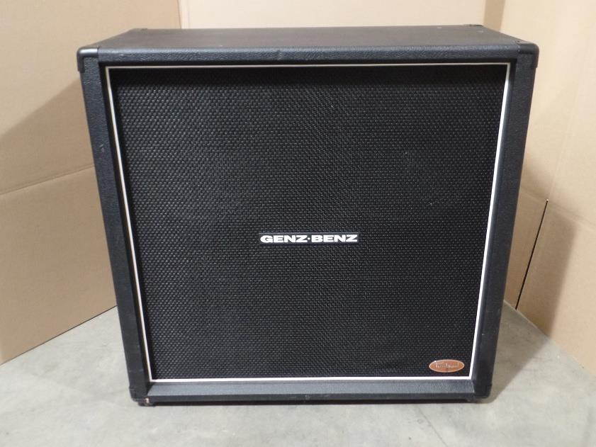 Genz Benz Tribal Series TS412 4x12 Electric Guitar Speaker Cabinet Eminence 6027