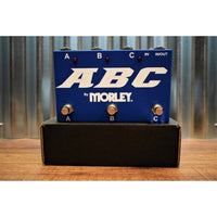 Morley ABC Guitar or Amp 3 Way Selector Combiner Switcher Effect Pedal