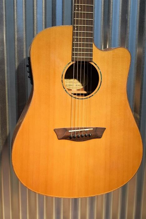 Washburn WD160SWCE Timber Ridge Solid Woods Acoustic Electric Guitar #2444