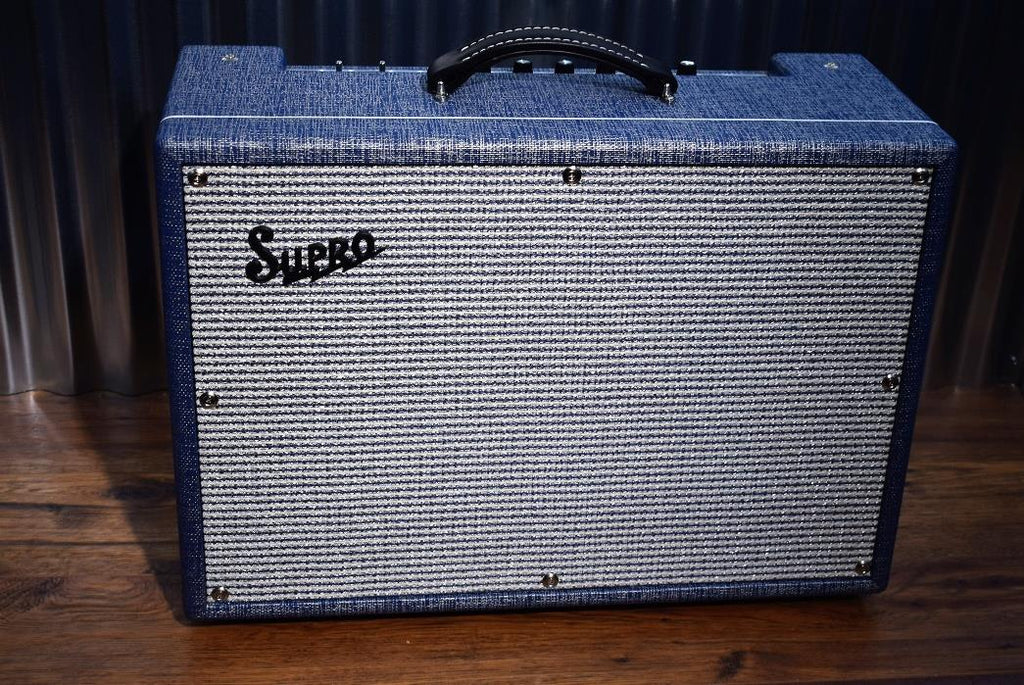 "Supro USA 1648RT Saturn Reverb Tremolo 15 Watt 1x12"" Guitar Combo Amplifier #135"