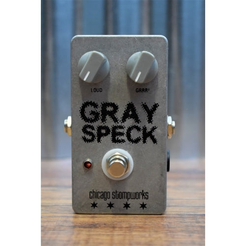 Chicago Stompworks Gray Speck DOD OD250 Overdrive Clone Guitar Effect Pedal Used