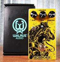 Walrus Audio Iron Horse V2 Distortion Guitar Effect Pedal