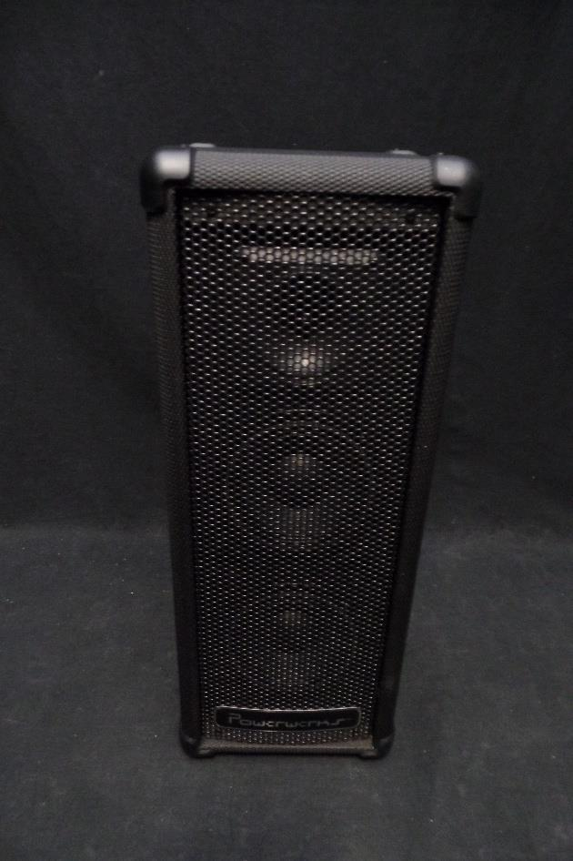 Powerwerks PW50 3 Channel 50 Watt Portable Personal PA System #0126*
