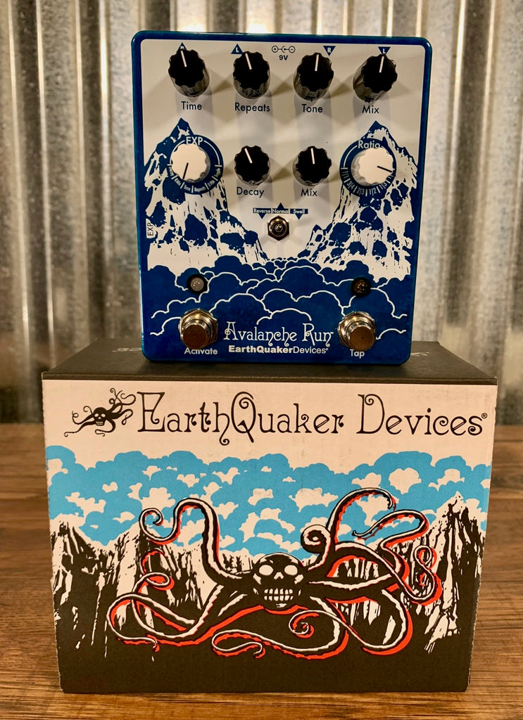 earthquaker devices eqd avalanche run stereo delay reverb v2 guitar specialty traders. Black Bedroom Furniture Sets. Home Design Ideas