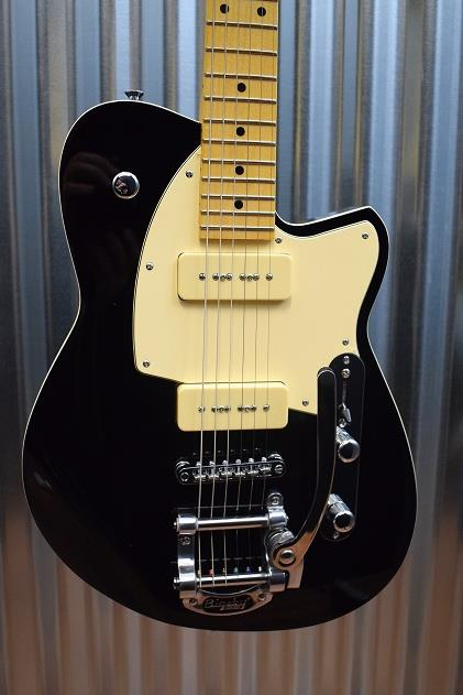 Reverend Guitars Charger 290 LE Ghost Metallic Black New Discontinued Finish