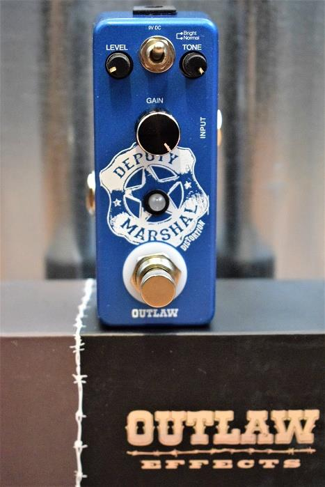 Outlaw Effects Deputy Marshal Plexi Distortion Guitar Effect Pedal